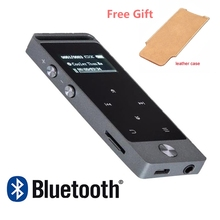 2017 Newest Version Bluetooth mp3 player Touch Button BENJIE S5B 8GB Digital Voice Recorder Lossless HiFi Sound MP3 Audio Player