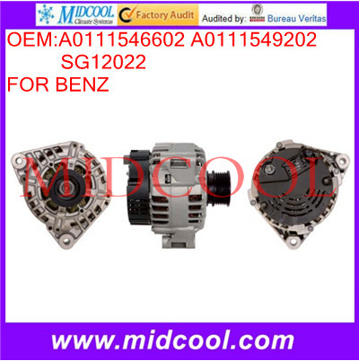 High Quanity Car Alternator OEM:A0111546602 A0111549202 SG12022<br><br>Aliexpress