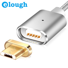 Elough E03 Magnetic Micro USB Cable Magnetic Charger For Xiaomi Huawei Android Mobile Phone Charge Magnet Micro USB Data Cable