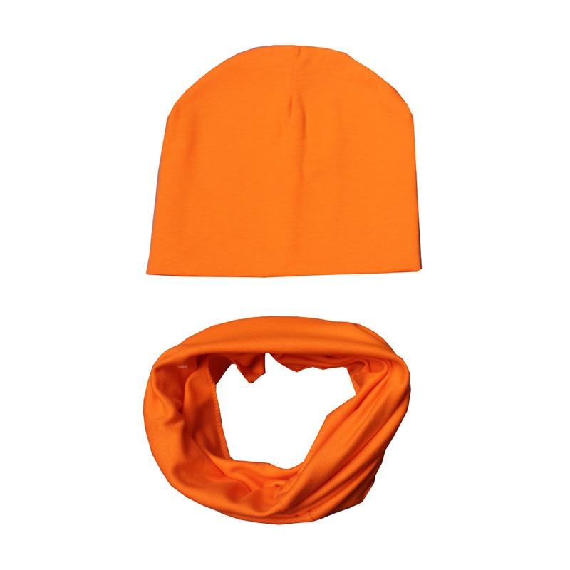 Baby-Hats-Beanie-Cotton-Baby-Warm-Cap-Collar-Set-Children-Hat-Scarf-2pcs-Set-Caps-For