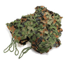 JHO-2m x 1.5m Shooting Hide Army Camouflage Net Hunting Oxford Fabric Camo Netting