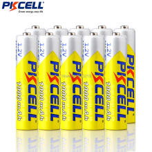 10Pieces*PKCELL 1.2v AAA 3A NIMH 1000mah AAA Battery Rechargeable aaa Batteria ni-mh batteries battery rechargeable