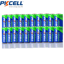 20 x PKCELL CR2 15270 CR15H270 3V 850mAh CR2 3V Lithium Battery(China)