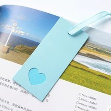 The original optical characteristics of simple Mini colorful paper tag creative bookend custom bookmark message 9*4cm 10pcs/set(China)