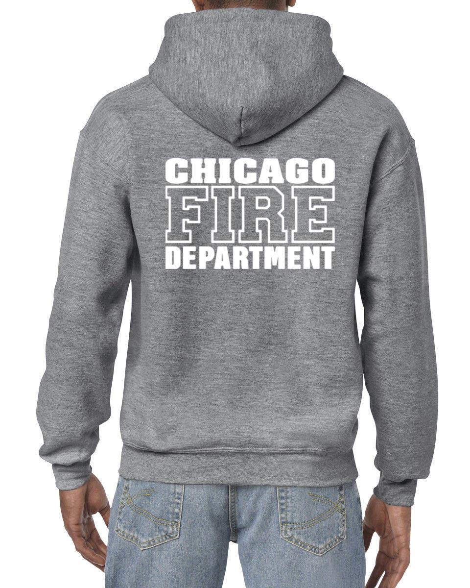 Hot Sale Men Fashion Chicago Fire Department Custom Men S Black