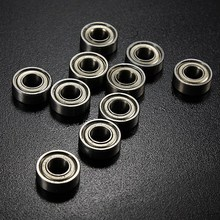 2017 Best Price 10PCS/a Set MR115ZZ 5x11x4mm Miniature Deep Groove Ball Bearing Sealed Metal Steel Shielded Metric Radial