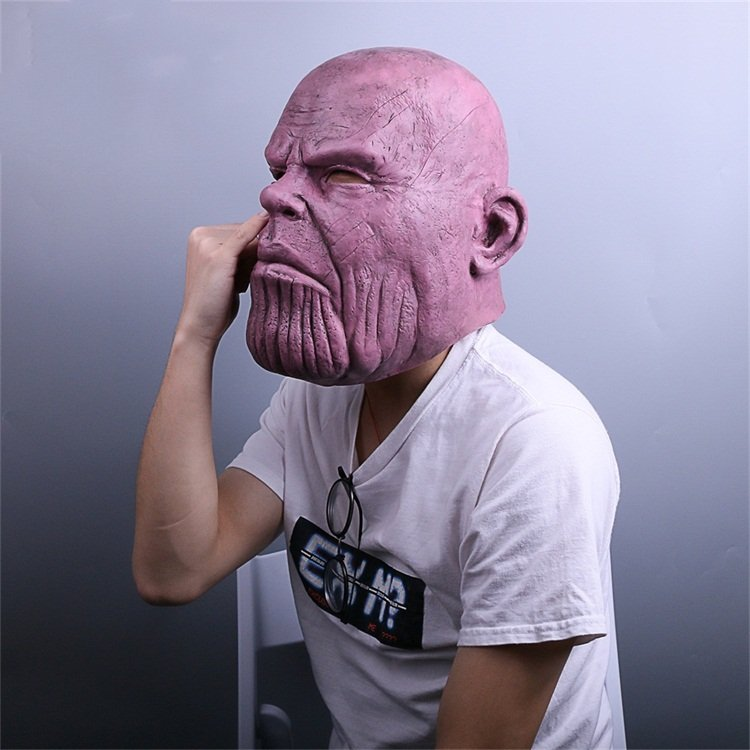 Thanos Cosplay Mask & Gauntlet Take Control of Your Infinity Saga Universe 10