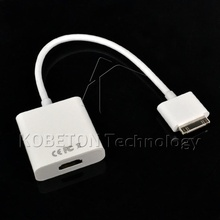 Kebidu Newest HDTV AV 30 Pin Dock Connector HD 1080P Digital HDMI Cable for iPad 3 2 1 iPhone4 4G phone(China)