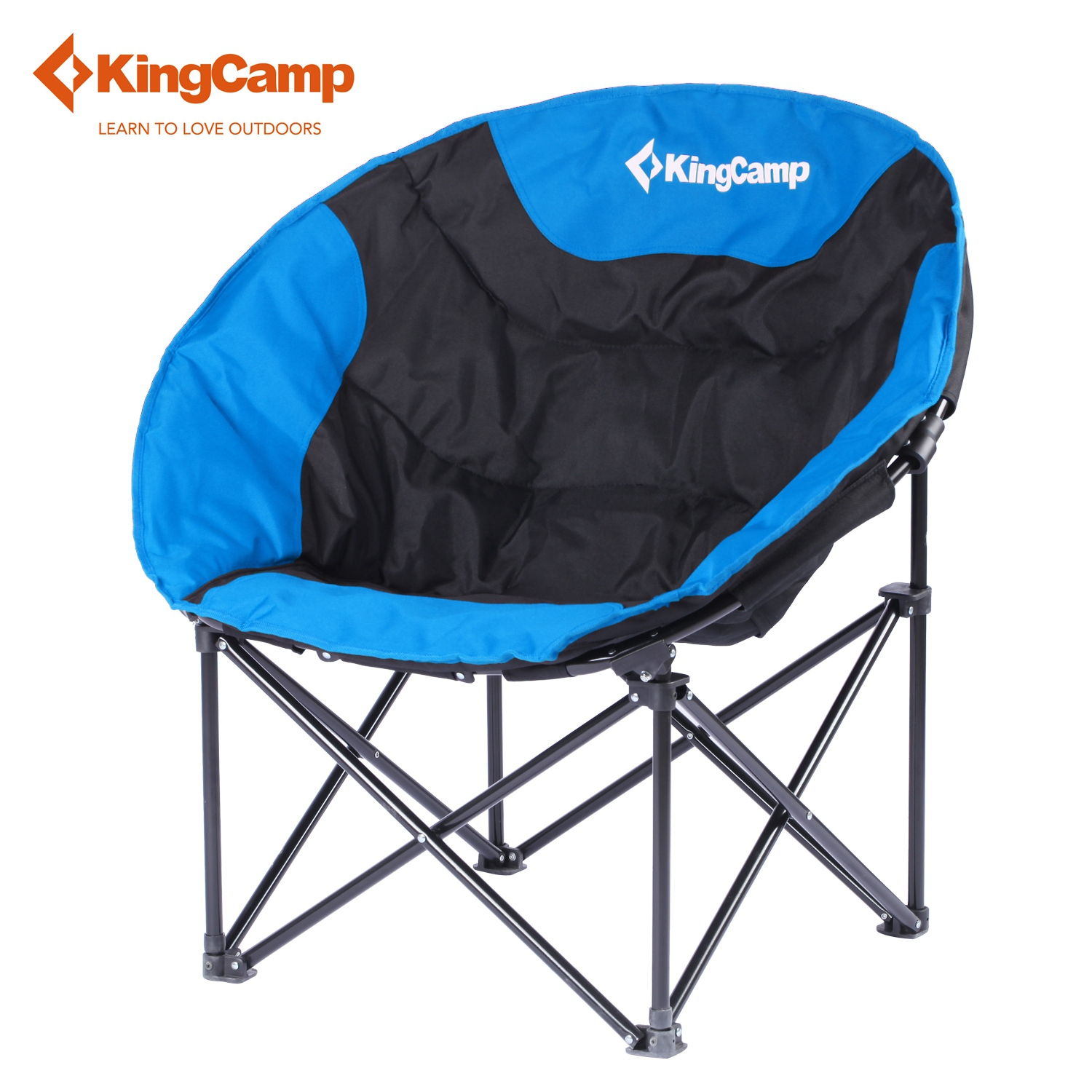 KingCamp Ultra-light Soft Moon Leisure Ultralight Camping Chair Blue Fishing Chairs with Magazines Bag Heavy-Duty Construction<br><br>Aliexpress