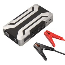 18000mAh Jump Starter Car Battery Charger with Jump Lead with 1000A Peak Current Starting 8.0L Petrol 6.0L Diesel(China)