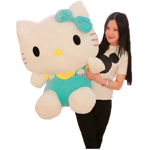 Fancytrader High Quality Hello Kitty Toy 31 80cm Giant Plush Stuffed Hello Kitty Kids 3 Colors Available+Free Shipping FT90169<br><br>Aliexpress