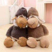 50cm Super cute NICI sheep in wolf's doll wolf sheep plush toys for birthday gift 1pcs