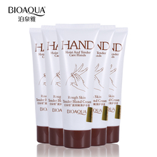 BIOAQUA Brand Rough Skin Tender Hand Cream Anti Chapping Moisturizing Hand Lotion Perfumed Soft Firming Skin Care for Winter 60g