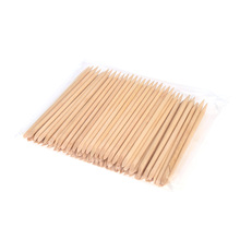100pcs Nail Art Design Orange Wood Stick Cuticle Pusher Remover Manicure Care Professional Manicure Nail Tools Accessories(China)