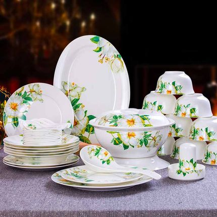 high grade ceramic dinnerware set fine bone china tableware set of 56 pcs china