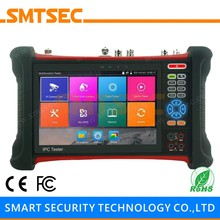 "7"" 1920*1200 Touch Screen Multifunction CCTV Tester Pro Monitor Onvif POE Support H.265 4K IPC Analog IP Camera Tester(China)"