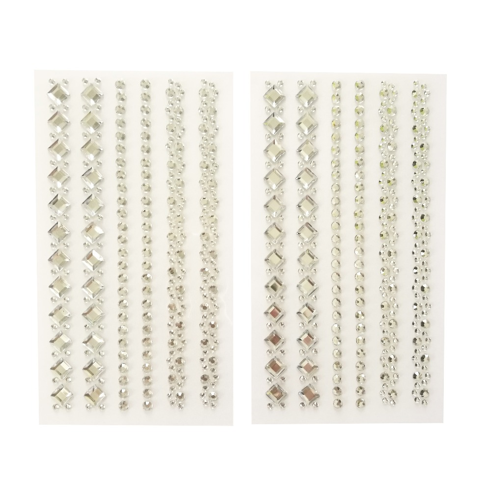 BEAUTIFUL DIAMANTE 6MM GEMS /& PEARL EMBELLISHMENTS FOR CARDS AND CRAFTS