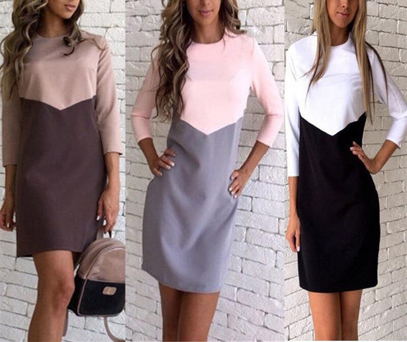Модные повседневные платья новинки