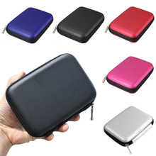 Hand Carry Case Cover Pouch for 2.5 inch Power Bank USB External HDD Hard Disk Drive Protect Protector Bag(China)