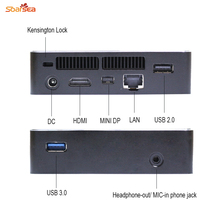 MINI HTPC KIT NUC Intel Core i7 6500U/I5 6200U BAREBONE PC NGFF(M.2) 22*80,UP to 2TB FREE SHIPPING(China)