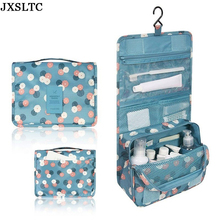 Women Travel Portable Wash Toiletry Organizer Beauty Make up Bag Men's Waterproof Hanging Storage Bag Beautician Cosmetic Bag(China)