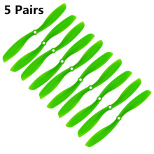 Fpv 8045 Props 80x45 Cw/ccw Propeller For Multicopter Quadcopter Airplanes Plastic Prop Green 5 Pairs Top Fashion