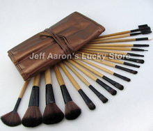 18 PCS professional name brand soft synthetic hair make up brushes cheap cosmetics makeup brush set wholesale(China)