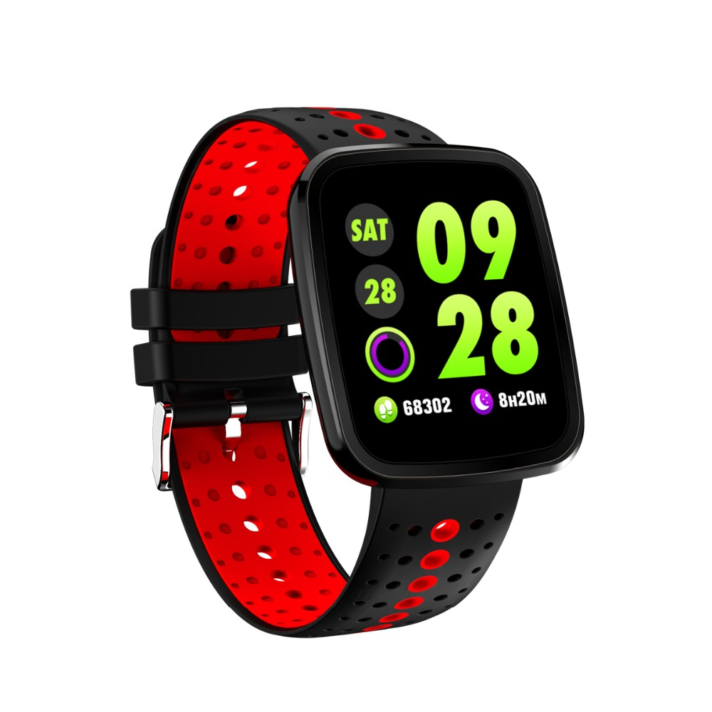 NAIKU Smart Bracelet V6 Pro Color Screen Waterproof Wristband Heart Rate Monitor Blood Pressure Measure Fitness Tracker Band 12