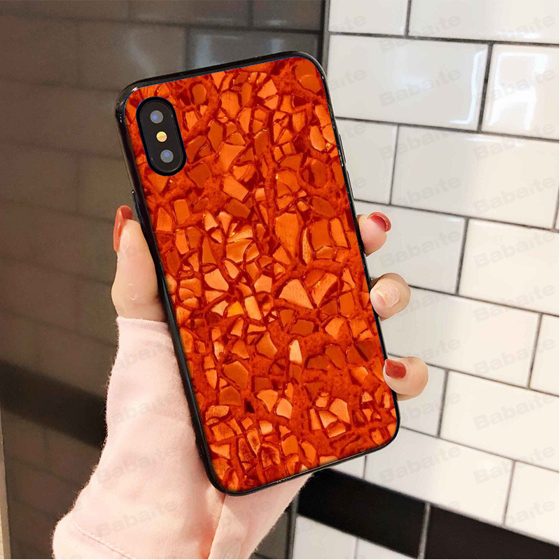 Amber marble