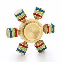 Fidget Tri-Spinner Toys Sensory Fidgets Autism ADHD Hand Spinner Anti Stress Funny gifts EDC Rotation fidget spinner metal