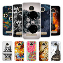 Case Cover For Motorola Moto Z Play Soft Silicone TPU Chic Patterned  Printed For Motorola Moto c27fb57ad3