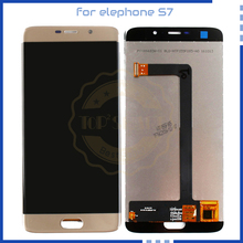Elephone S7 LCD Display Touch Screen Digitizer Assembly replacement Elephone S7 Scree LCD Display Phone Parts Free Tools