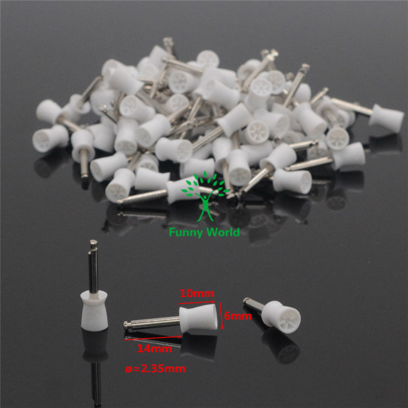 20pcs Dental Lab New Latch type Rubber Polishing Polisher Cups Prophy Cup(China (Mainland))
