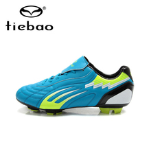 Tiebao Professional FG TPU Sole Athletic Training Soccer Shoes Outdoor Football Boots Men Soccer Cleats zapatos de futbol