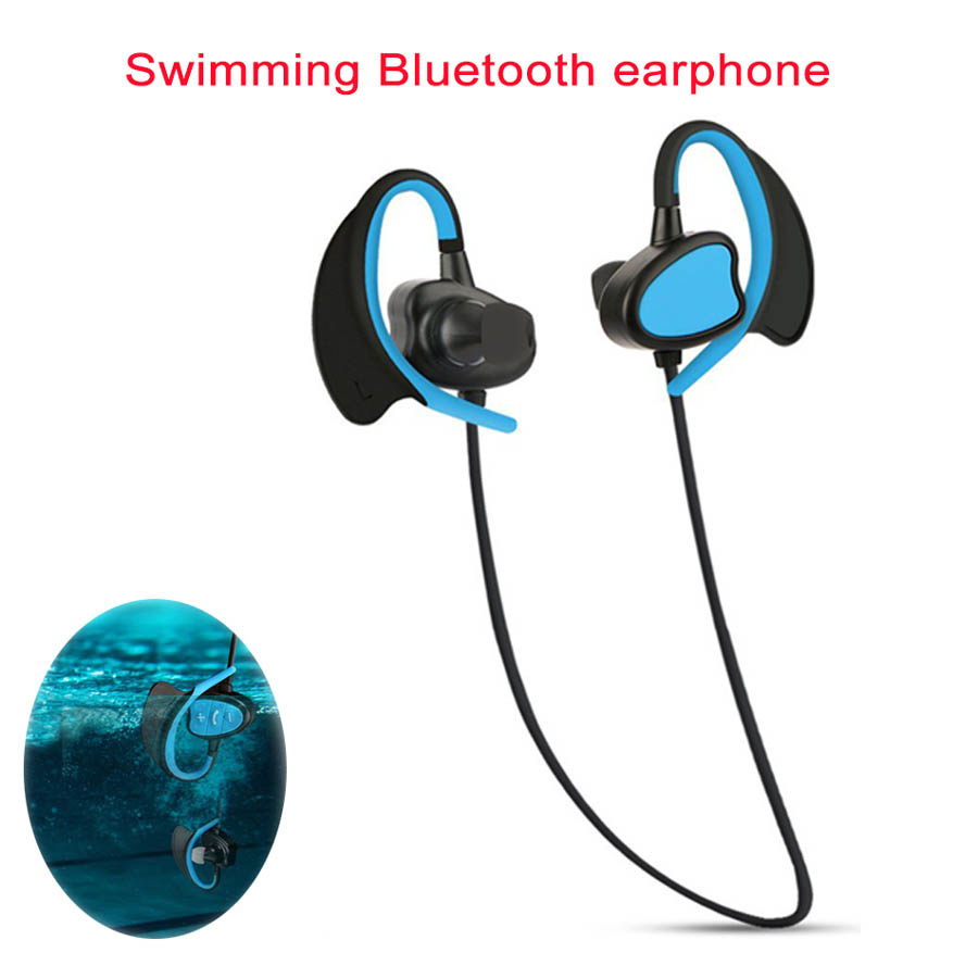 Newest BH802 Diving Waterproof Swimming Earphone IPX8 Underwater Surf Sports Music Swim Mini HIFI Stereo Bass Earphone Headset<br>