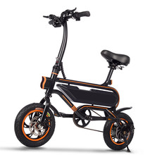 Buy Electric scooter Mini foldable 12 inch adults 2 wheel folding electric bicycle LED headlight for $689.18 in AliExpress store