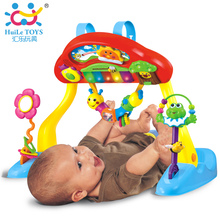 HUILE TOYS 786 Baby Play Mat Deluxe Music Activity Gym and Crib Soother, Musical Melodius, Light, Keyboard Baby Toys 0-3 Years(China)
