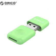 ORICO CRS12 Card Reader Mini Multifunctional Design USB 3.0 Card Reader For SD/TF - Green(China)