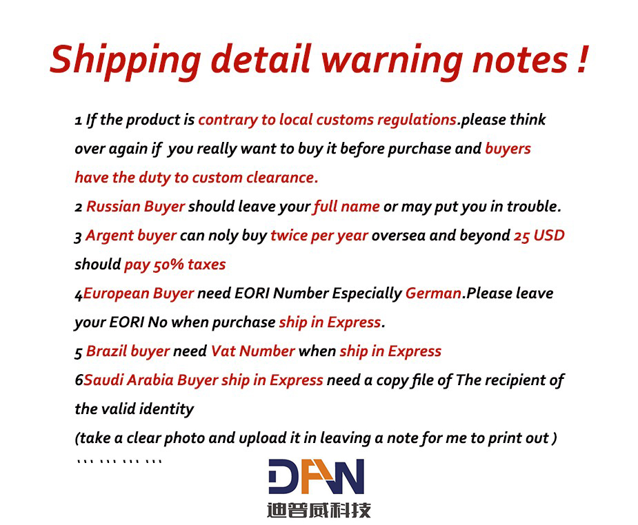 shipping note
