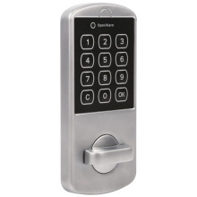 Home Use Lock Digital Electronic Cabinet Coded Locker Touch Keypad Password Key Access Security Door Locker High Quality