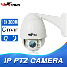"WETRANS IPPTZ905- 1.3MP 1/3"" CMOS ONVIF P2P Mini Indoor/ Outdoor High Speed Dome Night Vision IP PTZ Camera(China)"