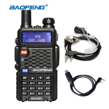 Baofeng BF-F8 Plus BF-F8+ Mini Walkie Talkie 5W 136-174MHZ 400-520MHZ VHF/UHF Dual Band Handheld Transceiver Two Way Radio(China)