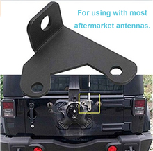 Auto Car Tailgate Back door 1x Antenna Mounting Mount Bracket Base Holder For 2007-2014 2/4 Door Wrangler Car-Styling car-covers