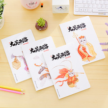 1029 Laugh Journey To The West A5 Car Line Basis Originality Pattern 32K Student Notepad Notebook(China)