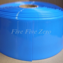 Flat width155mm diameter 98mm PVC Heat Shrink Tubing Battery Wrap Mould Parts ROHS - 1 Meter(China)