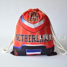 sports outdoor polyester Netherlands soccer bag Portable football fan football boots shoes bag Fans souvenirs storage bag gift