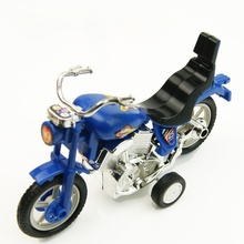 Children Boys Motorcycle Mini Candy Color Back To Power Motorcycle Transparent Small Toys Plastic Random Colors(China)