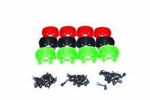 4pcs/lot Universal Black Red Green Motor Cover Protection for 22 Series 2204 Motors with M3*8 Screw set For RC Drone Quadcopter