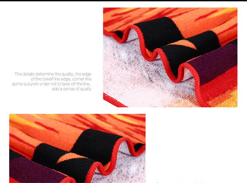 Micro Fiber Printed Beach Towel 140*70cm 33