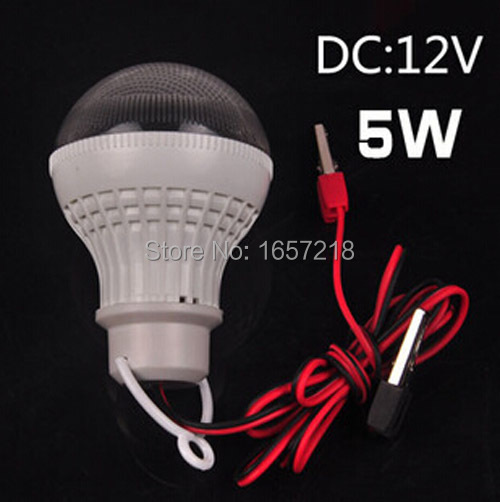 DC12V-85V led bulb / power generation experiments / emergency light / outdoor tent light / alligator clip wire(China (Mainland))
